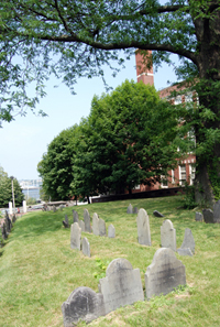 Copps Hill Burial Ground