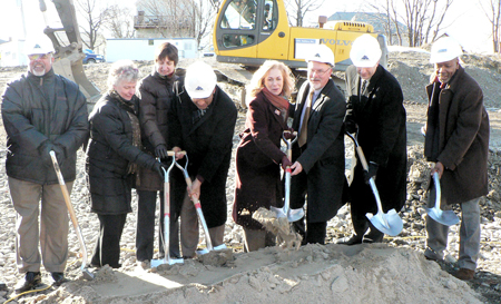 Officials break ground for Kasanof Apartments