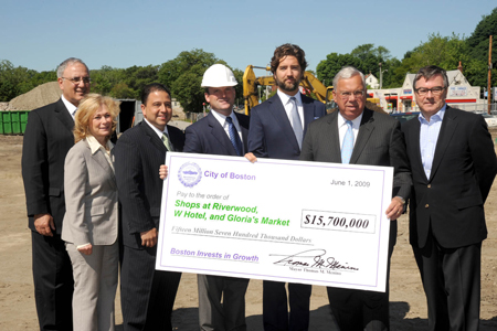 $15.7 million check for Boston Invests in Growth projects
