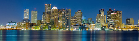 Boston Skyline by Brendan Stewart