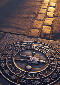Freedom Trail Marker