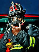 Firefighter in Mask (150)