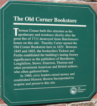 Old Corner Bookstore