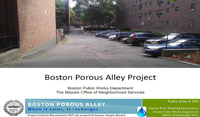 Porous Alley Project