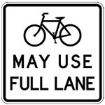 Bike Traffic Sign (150)