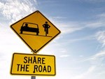 Share the Road Sign (150)