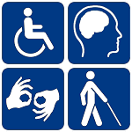 Disability Commission Logo (150)