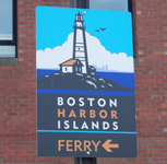 Boston Harbor Islands Ferry Sign (150)
