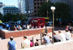 Food Truck on City Hall Plaza