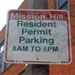 Resident Parking Sign (75)