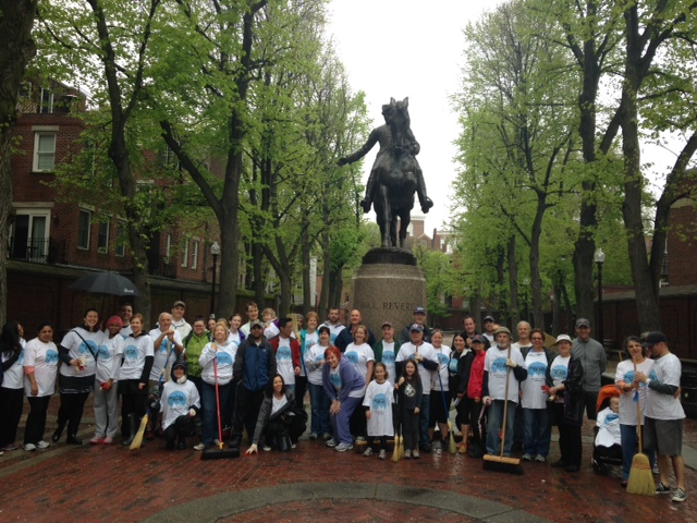 Boston Shines Group Celebrating (440)