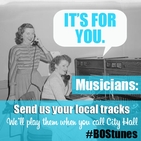 Submit Your Local Music to the City of Boston (440)