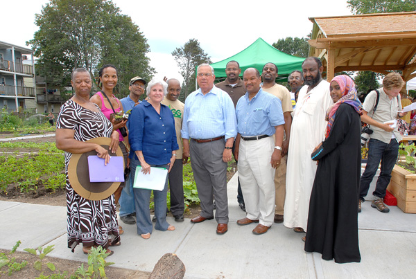 Mayor Menino Celebrates New Nightingale Community Garden in ...